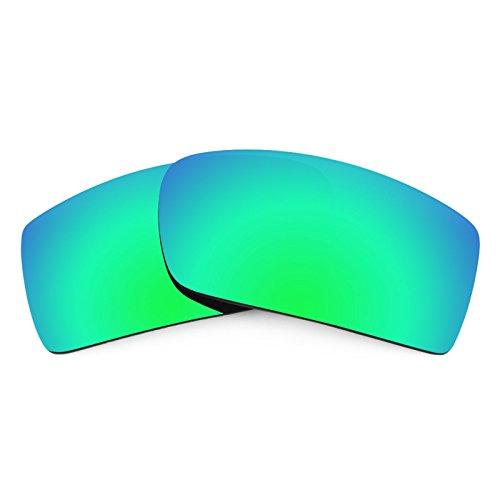 Revant Polarized Replacement Lenses for Oakley Gascan Emerald Green - Polarized Precision Lenses Green