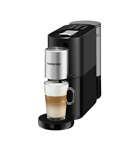 Krups Nespresso Cafetera de cápsulas, plástico, negro/plata