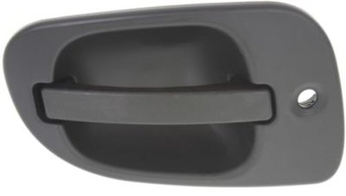 OE Replacement Front Driver Side Black Exterior Door Handle with Keyhole for Freightliner - REPFL462110