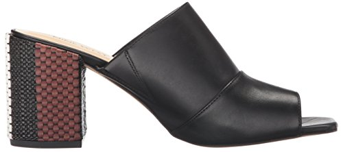 Nine West Women's Janel Leather Mule Black AVduWrcdv3