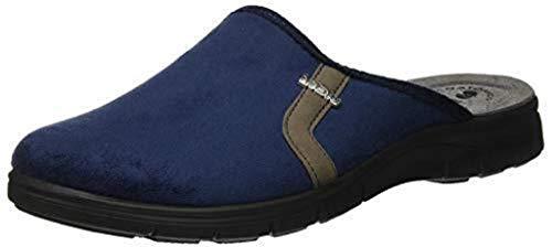 Estar Zapatillas Para Azul 44 Eu Hombre Turquesa Casa De Tela Por Inblu Ef8qdf