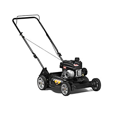 Yard Machines 140cc OHV 21-Inch 2-in-1 Push Walk-Behind Gas Powered Lawn Mower