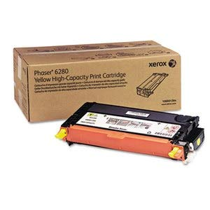 HIGH CAPACITY YELLOW TONER CARTRIDGE (5,900 PAGES) FOR PHASER 6280