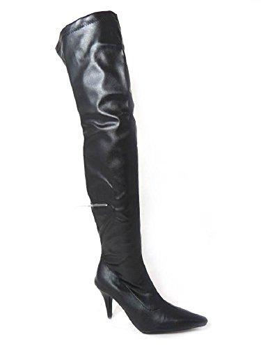 Low Black Matt à SKO'S différents Pointure aiguilles talons femme modèles Cuissardes 37 stretch Heel Bottes sexy pour à 42 RfwBT4qf