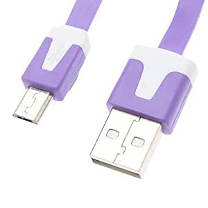 USB Sync and Charge Cable for Samsung Mobile Phone (Assorted Colors,1M) , Yellow