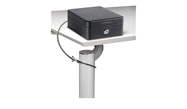 Arregui C9467 Caja de Seguridad con Cable para Fijación, Negro ...