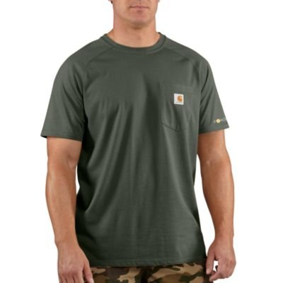 b21b6375e83 Image Unavailable. Image not available for. Color: Carhartt Men's Force  Cotton Short Sleeve T-Shirt Relaxed Fit ...