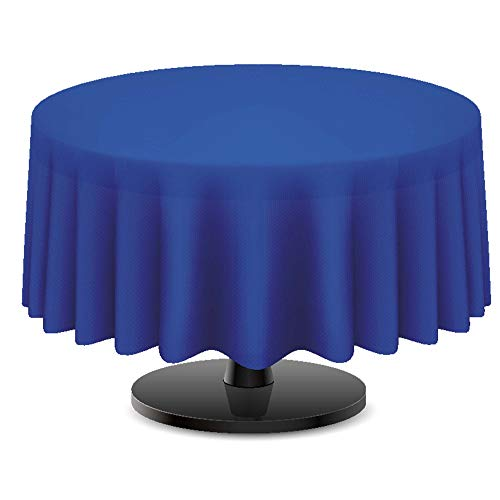 DecorRack 4 Round Tablecloth -BPA- Free Plastic, 84