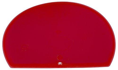 Maya 71916 - Espátula Flexible Redonda, Metal Detectable y Rayos X, 160 x 125 x 1,65 mm, Rojo: Amazon.es: Industria, empresas y ciencia