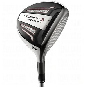 Adams Golf Speedline Super S Golf Fairway Wood (Left Hand, Graphite, Regular, 15-Degree)