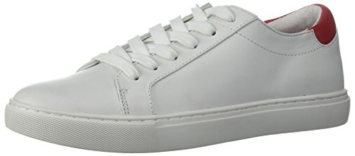 Kenneth Cole New York Womens Kam Lace up Chinese New Year-Techni-Cole 37.5 Lining Sneaker White lRWrD2p