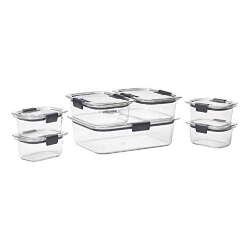 Buy glass food storage containers with lids