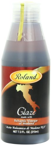 Sodium Free Salad Dressing (Roland Foods Balsamic Glaze, 7.3 Ounce)