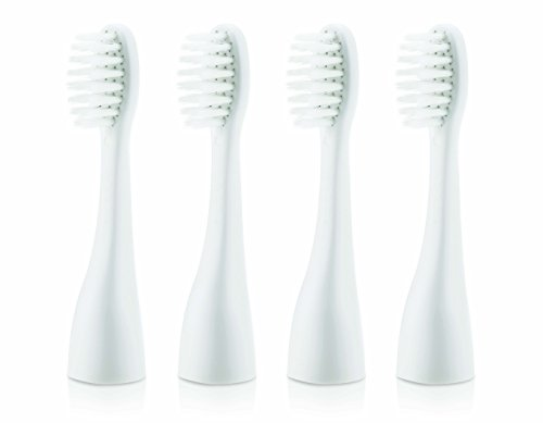 Nuby Vibrating Toothbrush Replacement Heads 4 Pack