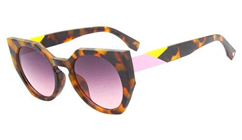 Glasses sunglasses women designer vintage gradient round Sun Glasses for women Shades ()