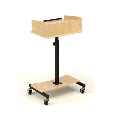 Speaker Stand Lectern (Oklahoma Sound LSS-FM Adjustable Laptop Speaker Stand, 24