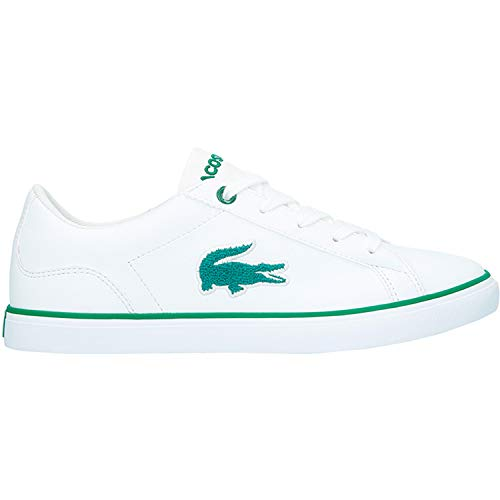 Green 318 Lacoste Synthetic White Lerond Youth White Trainers 2 1ZqI5