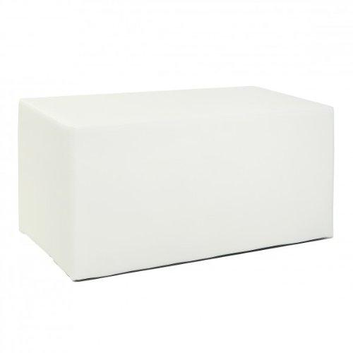 Sitzwurfel Kubus Ii Hocker Kunstleder Sitzbank 90x45x45 Cm Modern In
