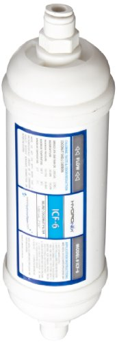 Hydronix ICF-6Q Inline Coconut Carbon Filter