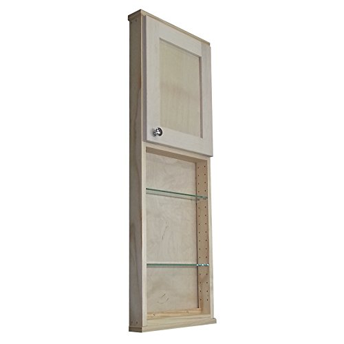Bath Curio Cabinet (Wood Cabinets Direct 3.5