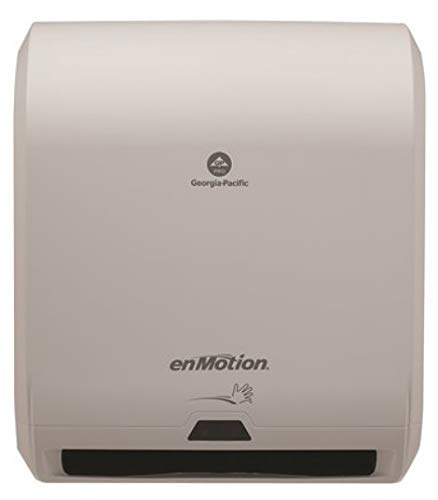 enMotion White 10 Automated Touchless Roll Paper Towel Dispenser