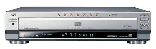 JVC XV-FA902SL 7-Disc DVD Player , (Jvc Digital Tv Receiver)
