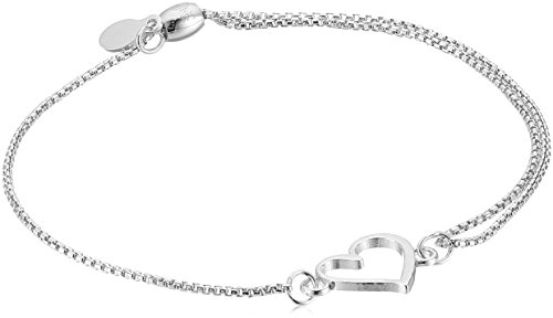 ull Chain Bracelet, Sterling Silver, Expandable ()