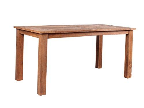 GARDENho.me Tisch Chicago Gartentisch Teakholz retro recycelt, Esstisch, ca. 160 x 80 cm