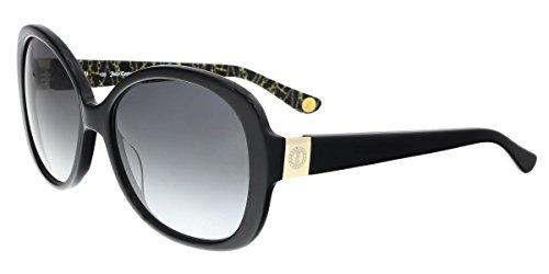 Juicy Couture Women's Ju 583/s Oval Sunglasses, Black, 57 mm