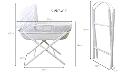 Nursery Furniture Folding Stand For Baby Moses Basket Rrp Upto £40 Reliable Performance Baby
