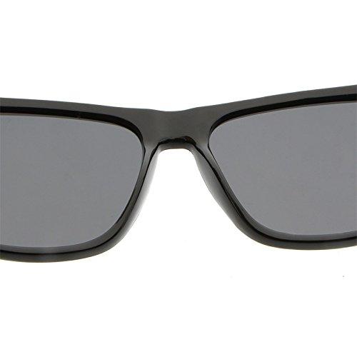 UV400 la gafas nuevos de de conducía Marco Black cuadrado de sol de polarizaron las vidrios sol Ruanyi los blue de hombres que aluminio magnesio manera Los AgxOnI