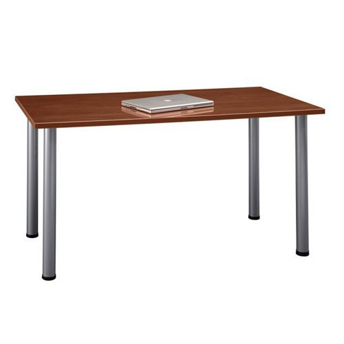 Aspen Tables 57W x 28-1/2D Large Rectangle Table in Hansen Cherry by Bush Business Furniture (Image #3)