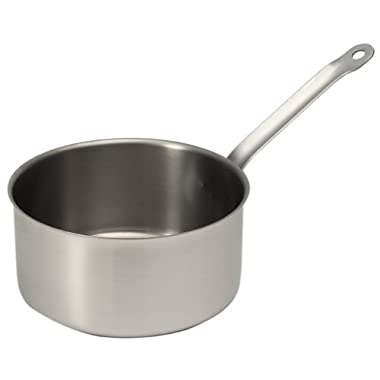 Sitram Catering 3.0 quart Commercial Stainless Steel Saucepan