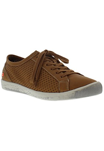 Low Ica388sof Softinos Women's Camel Top Sneakers SCSEfx6w