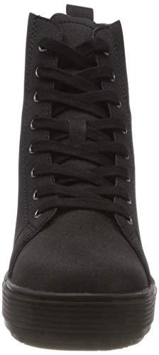 Sneaker Meti1 Black Donna Alto meti1 Nero Collo A Fornarina Rx5wSz4