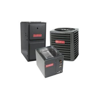 80,000 BTU 96% Gas Furnace and 2.5 ton 13 SEER Air Conditioner GMSS960803BN-GSX130301-CAPF3030B6