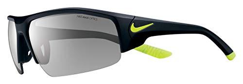 Nike Men's Skylon Ace Xv Rectangular Sunglasses, Matte Black/Volt, One ()