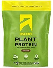 Ascent Organic Plant Based Protein Powder