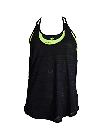 Women's Built in Sports Bra Tank Top w Removable Cup, Act...