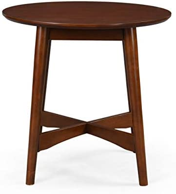 Christopher Knight Home Behrens Mid-Century Modern Wood End Table