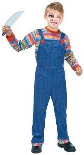 Partilandia Disfraz Muñeco Asesino para niño(4-6 años) 20077 ...