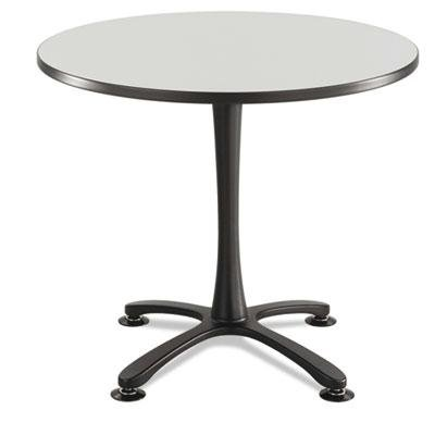 Safco - Cha-Cha Table Top Laminate Round 36'' Diameter Gray ''Product Category: Office Furniture/Meeting/Training Room Tables'' by Original Equipment Manufacture