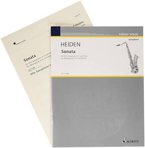 Sonata: for Alto Saxophone & Piano ()
