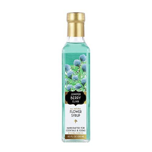 Juniper Coffee - Floral Elixir Co. Juniper Berry Elixir - All Natural Syrup for Cocktails & Sodas