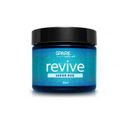 Revive Vapor Rub Spark Naturals Essential Oil Salve Organic 100%