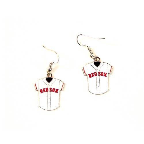 MLB Boston Red Sox Jersey Dangler Earrings