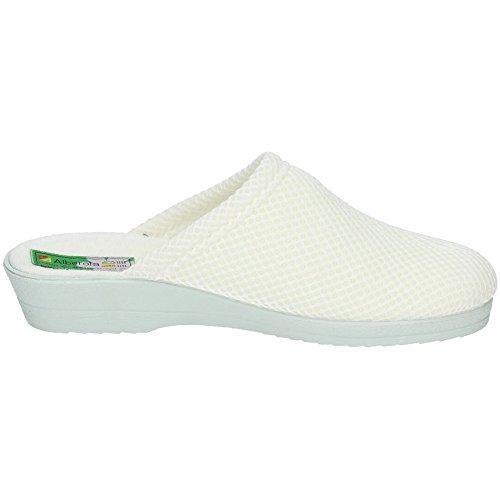 Zapatillas ALBEROLA 4220A Mujer Trabajo Blanco Calzado Enfermera rqZrc5