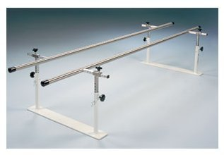 Steel Base-Folding Parallel Bars