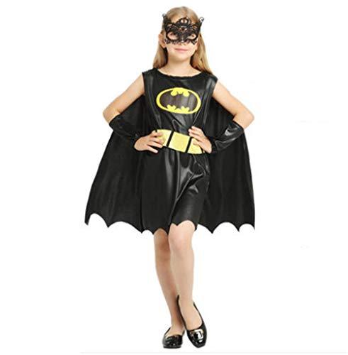 DXXMD Disfraz de Halloween Hombre Negro Ropa para Padres e Hijos ...