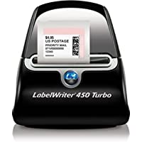 New Dymo LabelWriter 450 Turbo Label Printer Monochrome 71 lpm Mono USB